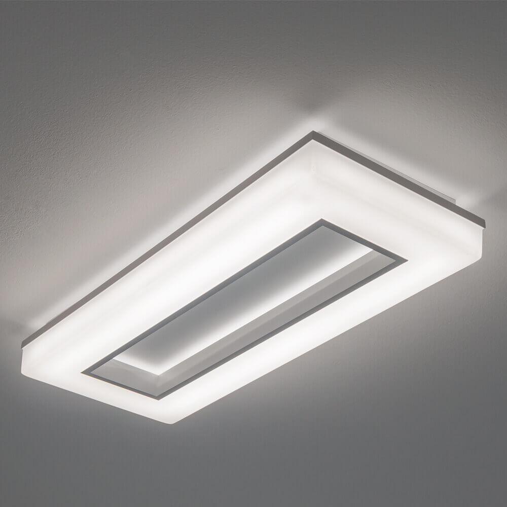 Luminária de Sobrepor em Alumínio Pixel C65cm LED 40W 3000K Bivolt 493LED3  Newline