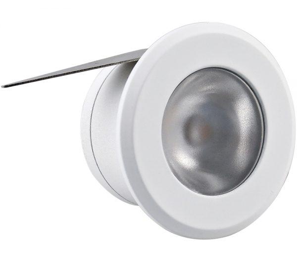Spot de Embutir Redondo LED 1W 2700K Bivolt 432938 Brilia
