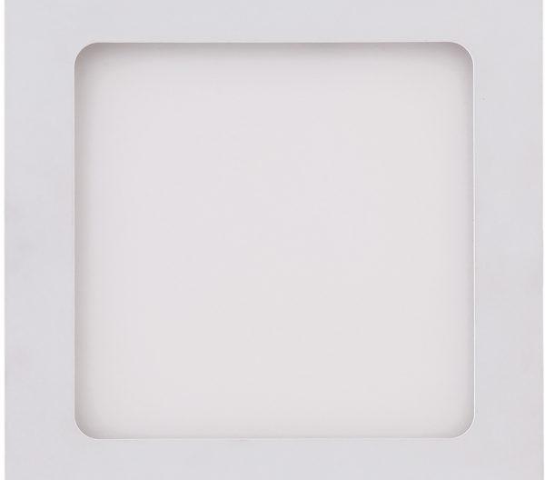 Painel de Embutir Quadrado 17x17Cm LED 12W 3000K Bivolt 438237 Brilia