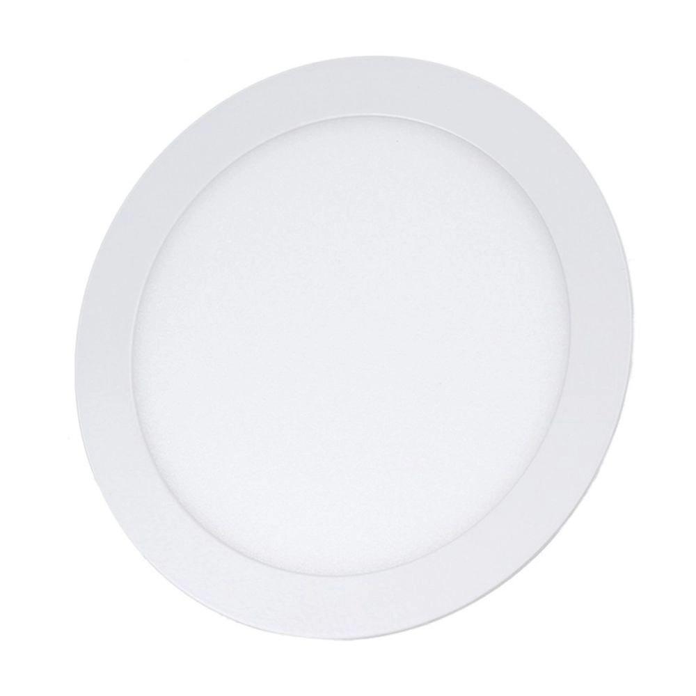 Painel de Embutir Redondo LED 18W 4000K Bivolt 10397 - Kian