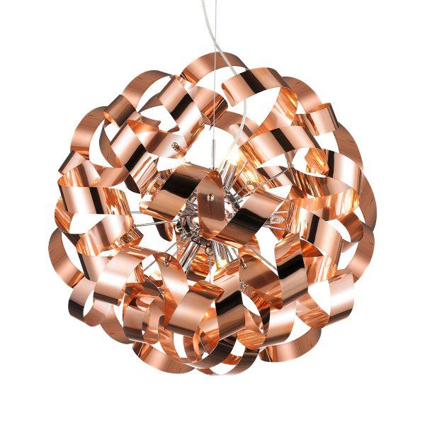 Pendente em Aço Bronze D45cm 9x G9 PE-033/9.45BRO  Mais Luz