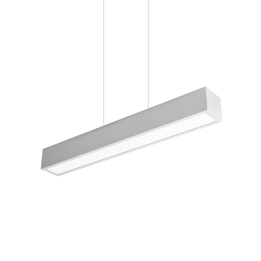 Pendente em Alumínio Sobrepor V C60cm LED 15W 4000K Bivolt 465LED4  Newline