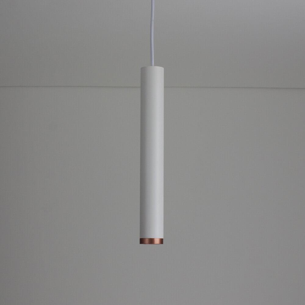 Pendente para Trilho em Alumínio C/ Plug Branco e 1,5 Mts de Cabo Lisse II A31cm 1x Mini Dicróica 420AB Newline