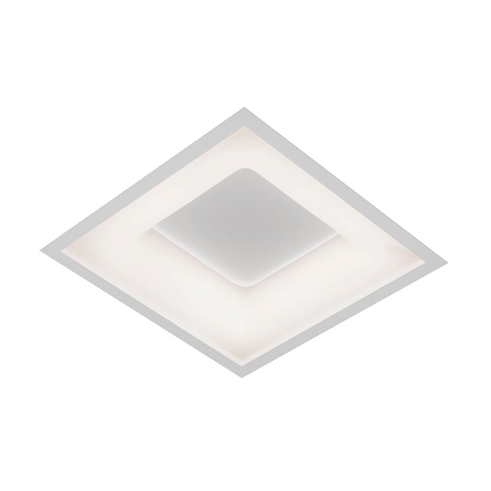 Plafon de Embutir Quadrado New Massu C49cm LED 40W 4000K Bivolt 472LED4  Newline