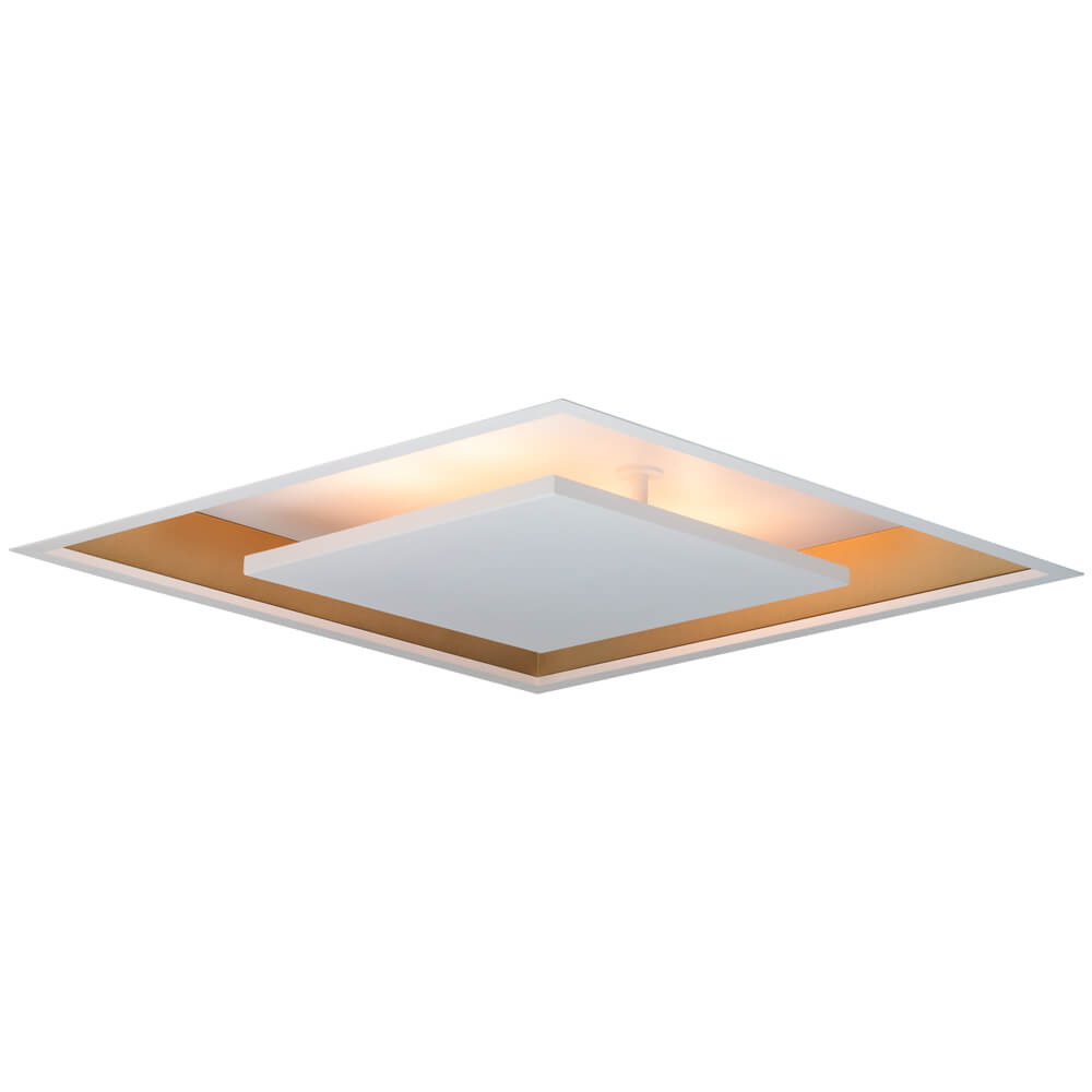 Plafon de Embutir Quadrado New Picture C62cm LED 30W 4000K Bivolt 542LED4  Newline