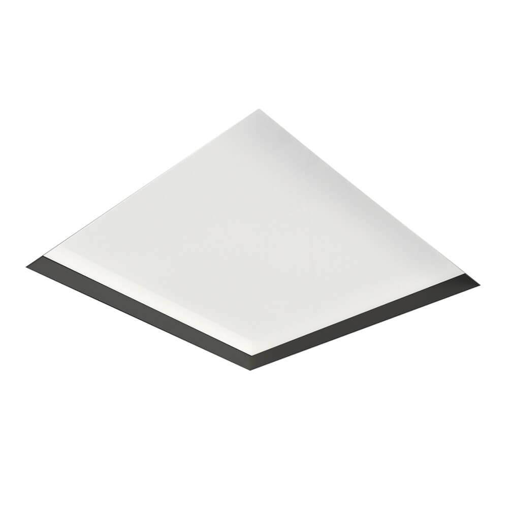 Plafon de Embutir Quadrado No Frame C39,4cm 6x E-27 IN60203  NewLine