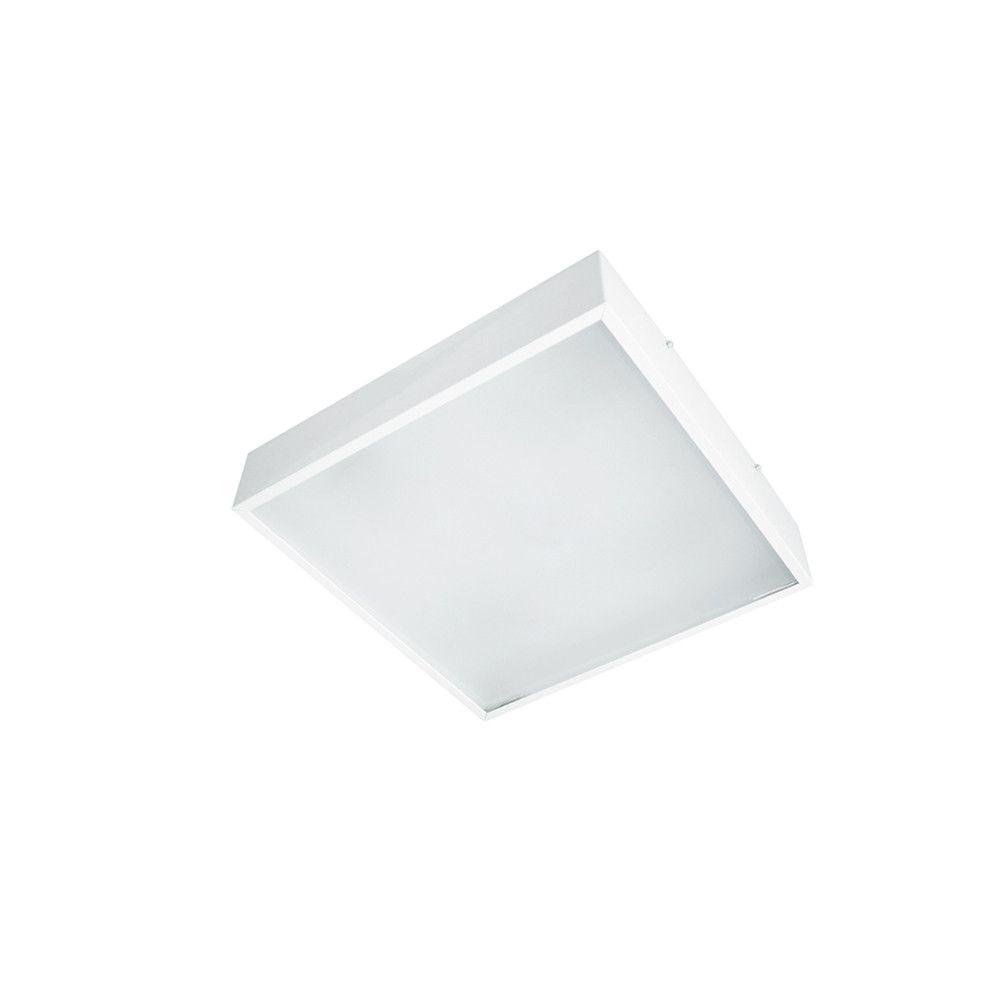Plafon de Sobrepor Quadrado C25cm 2x E-27 3040/25  Itamonte