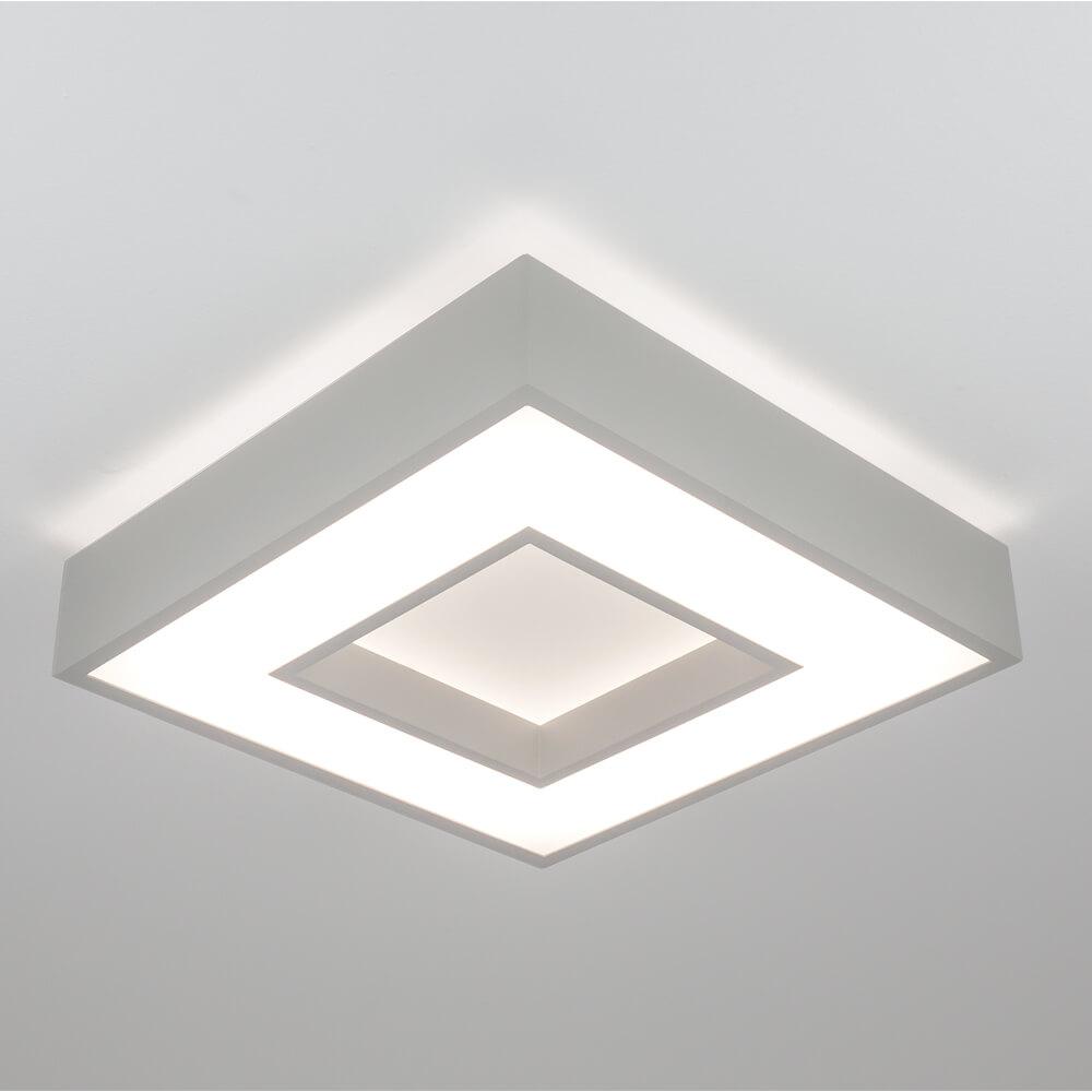 Plafon de Sobrepor Quadrado New Chess C35cm LED 30W 3000K Bivolt 511LED3 Newline