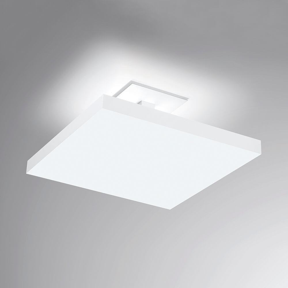 Plafon de Sobrepor Quadrado Tray C40cm LED 20W 4000K Bivolt 530LED4  Newline