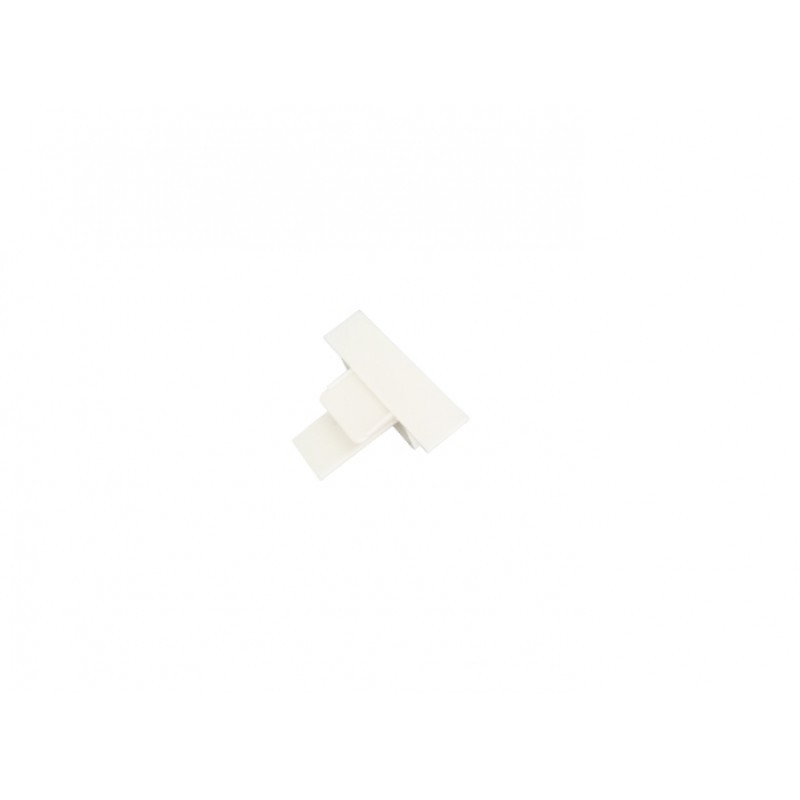 Ponteira Para Trilho de Embutir Energizado Branco SD1209BR - Stella Design
