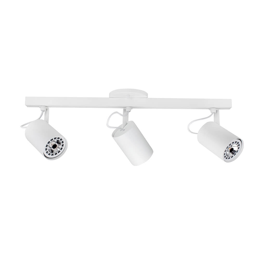 Spot Com Trilho 3x Dicróica C/ Plug e Canopla IN55627  Newline
