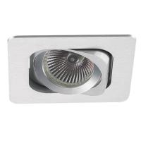 Spot de Embutir 1x AR70 Quadrado Direcionável em Alumínio C 130mm NS6701A  Bella Iluminação