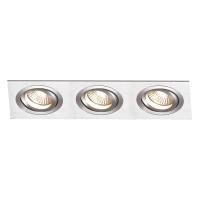 Spot de Embutir 3x PAR20 Retangular Direcionável em Alumínio C 300mm NS5203A  Bella Iluminação