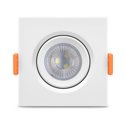 Spot de Embutir Quadrado PAR30 LED 12W 6000K FÊNIX Bivolt 11605 Kian