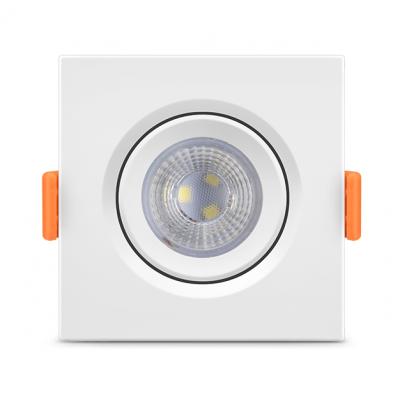 Spot de Embutir Quadrado PAR20 LED 7W 6000K FÊNIX Bivolt 11603 Kian
