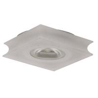 Spot de Embutir LED 1W 3500K Bivolt Quadrado em Acrílico D 60mm YD234QF Bella Iluminação