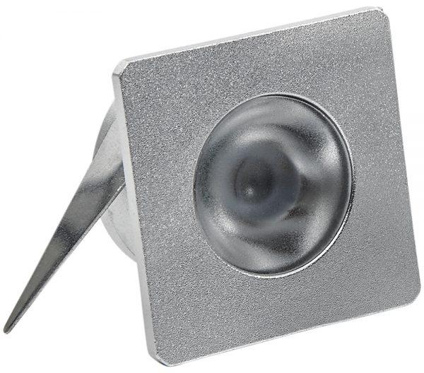 Spot de Embutir Quadrado LED 1W 2700K Bivolt 432921 Brilia