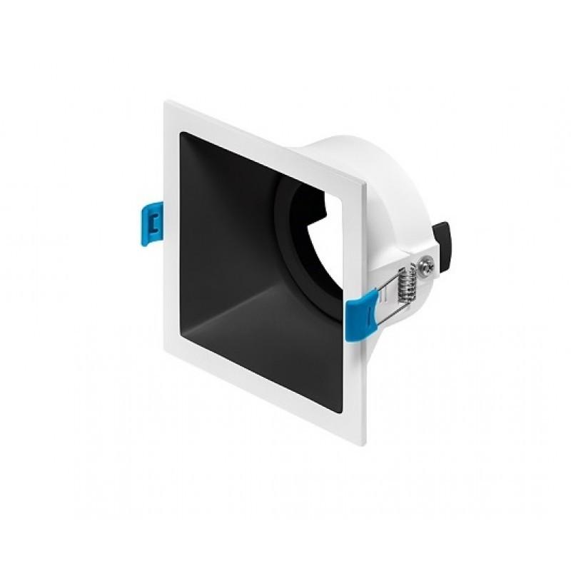 Spot de Embutir Recuado Square Luz Direcionável 1x Dicróica STH8915  Stella Design