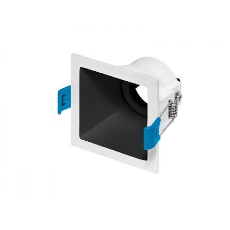Spot de Embutir Recuado Square Luz Direcionável 1x Mini Dicróica STH8910  Stella Design