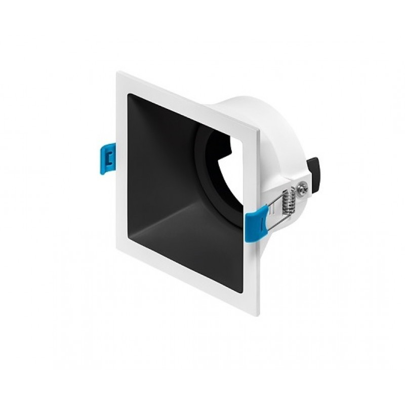 Spot de Embutir Recuado Square Luz Direcionável 1x PAR20 STH8920  Stella Design