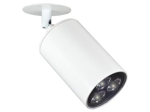 Spot de Sobrepor Clean modular Com Canopla LED 10° 3W Bivolt  LA-30810 Led Art