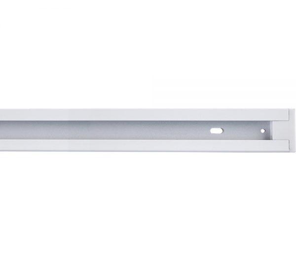 Trilho Eletrificado de Sobrepor 2 Metros Branco Completo 438954 Brilia