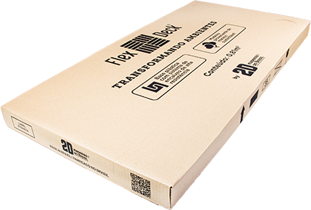 FlexDeck® - Capri - Ônix - Caixa com 2 unidades - 0,81m²