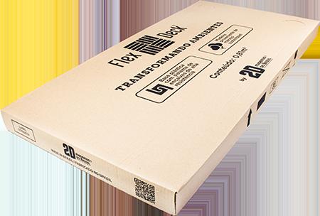 FlexDeck® - Copacabana - Ônix - Caixa com 2 unidades - 0,81m²