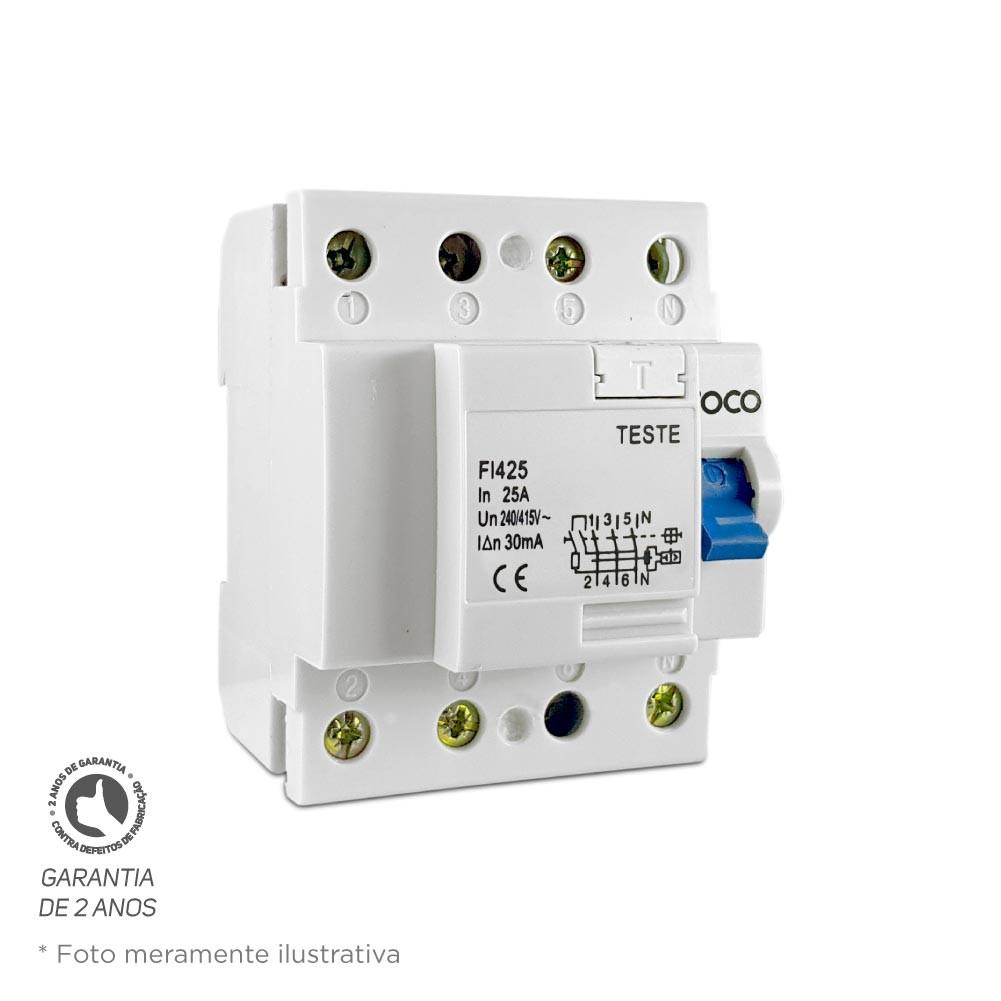 Interruptor Diferencial DR Foco 4X100 30MA