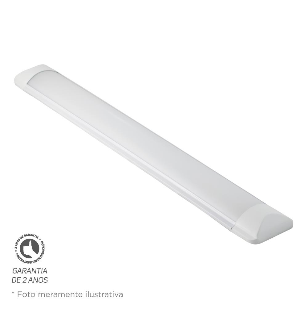 Luminária Led Foco Slim 36W 6500K Bivolt Foco