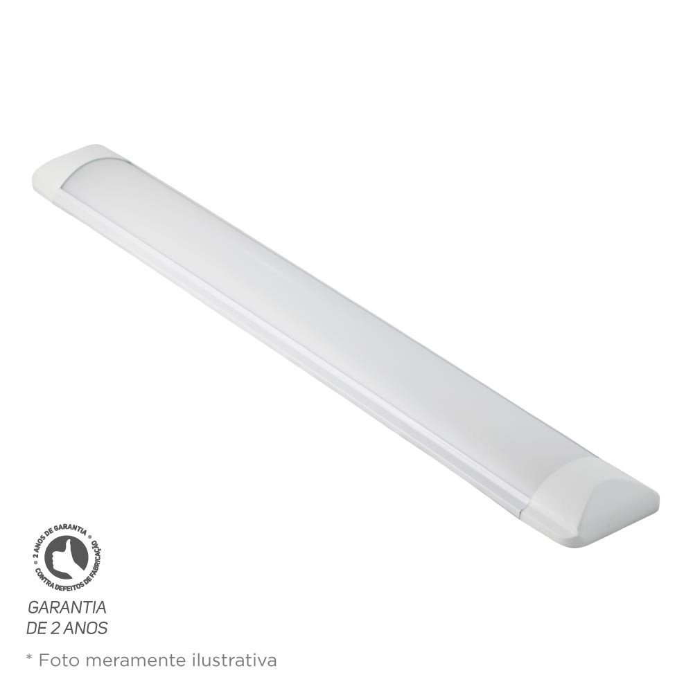 Luminária Led Slim 36W 4000K Bivolt Foco
