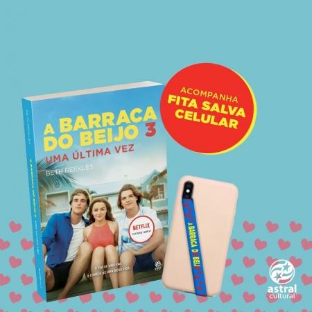 A BARRACA DO BEIJO 3  + FITA SALVA CELULAR ( BRINDE)