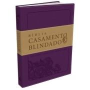 BÍBLIA CASAMENTO BLINDADO, ALMEIDA SÉCULO 21, ROXO