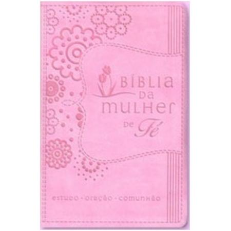 BIBLIA DA MULHER DE FE (CAPA ROSA)