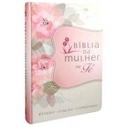 BIBLIA DA MULHER DE FE (FLORES)