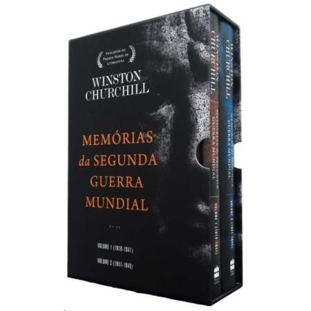 BOX - MEMORIAS DA SEGUNDA GUERRA MUNDIAL - 2 VOLS.
