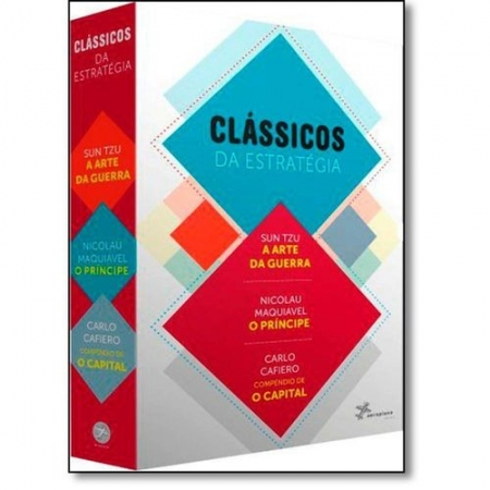 CLASSICOS DA ESTRATEGIA - CAIXA COM 3 VOLUMES