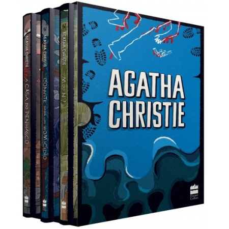 COLECAO AGATHA CHRISTIE - BOX 5