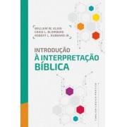 INTRODUCAO A INTERPRETACAO BIBLICA
