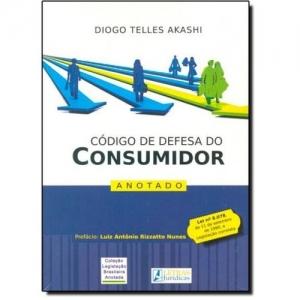 CODIGO DE DEFESA DO CONSUMIDOR ANOTADO - LEI N 8.078 DE 11 SETEMBRO DE 199