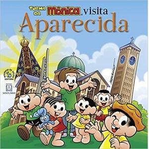 TURMA DA MÔNICA VISITA APARECIDA - BROCHURA