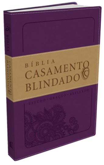 BIBLIA CASAMENTO BLINDADO - ROXA