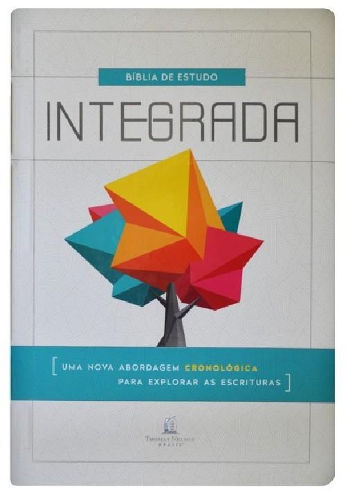 BÍBLIA DE ESTUDO INTEGRADA, NVI, CAPA DURA