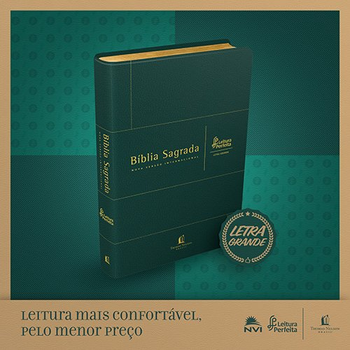 BIBLIA NVI LEITURA PERFEITA - CAPA VERDE