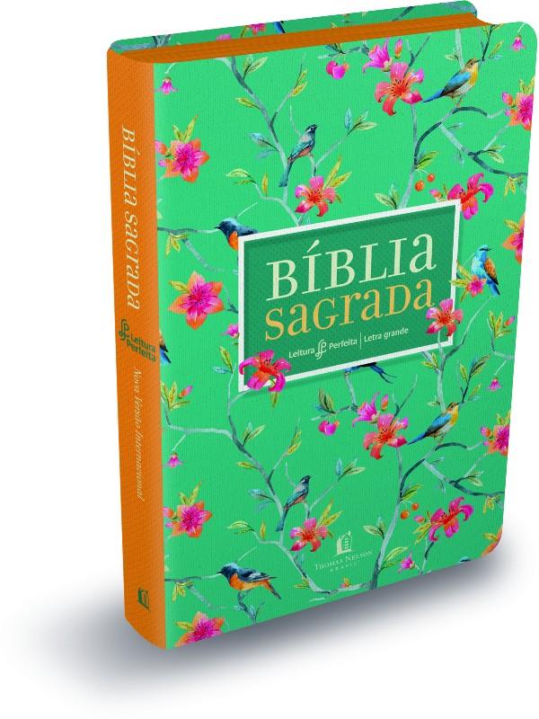 BIBLIA NVI LEITURA PERFEITA - CAPA FLORES