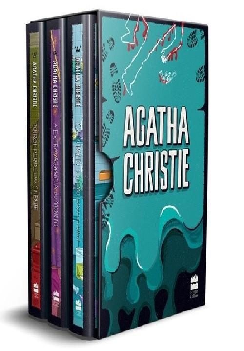 BOX 8 - AGATHA CHRISTIE  - 3 VOLS.