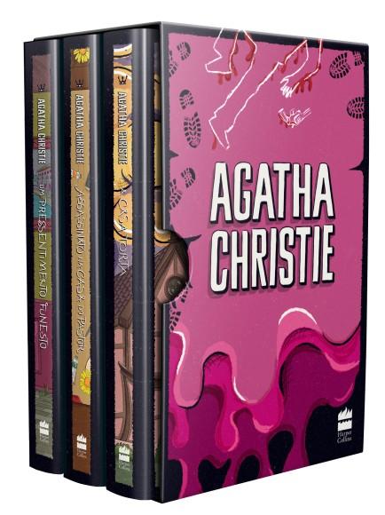 BOX - AGATHA CHRISTIE 7 - 3 VOLS.