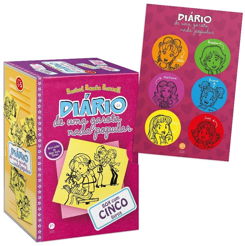 BOX DIARIO DE UMA GAROTA NADA