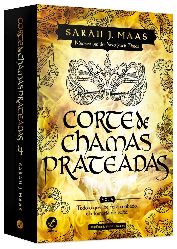 CORTE DE CHAMAS PRATEADAS - VOL. 4