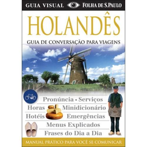 GUIA DE CONVERSACAO PARA VIAGENS - HOLANDES